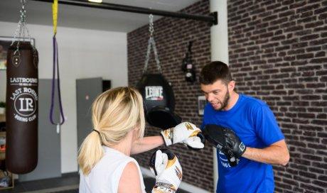 boxe femme à lyon , lastround boxing club